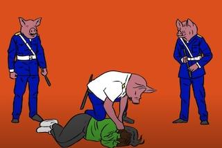 """Agenti col volto da maiale, Gianna Nannini risponde alla Polizia: """"Denuncio gli abusi di potere"""""""