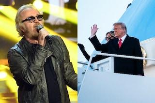 Donald Trump usa ancora Gloria di Umberto Tozzi nonostante la diffida del cantante