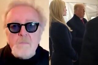 """Umberto Tozzi contro Trump che usa Gloria durante gli scontri di Washington: """"Sono un uomo di pace"""""""