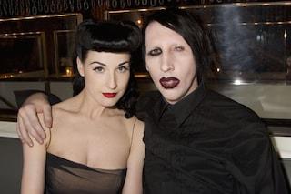 Marilyn Manson accusato di violenza, parla anche l'ex moglie Dita Von Teese