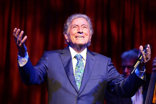 Tony Bennett (Dave Kotinsky/Getty Images 8th Annual Exploring The Arts Gala)