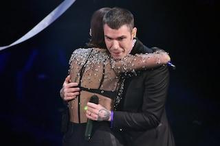 """Fedez a Sanremo 2021: """"Perché ho pianto dopo l'esibizione con Francesca Michielin"""""""
