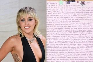 Miley Cyrus ha scritto una lettera commovente a Hannah Montana per i 15 anni della serie tv