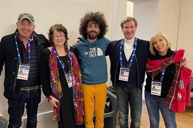 Erminio Sinni, Ann Harper, Giò Evan, Gianni Pera e Elena Ferretti