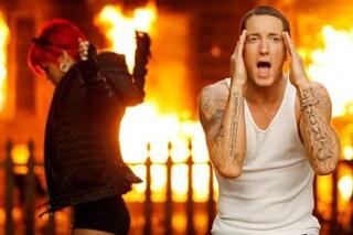 """Scontro totale tra Eminem e la Gen Z su TikTok per la misoginia in """"Love the way you lie"""""""
