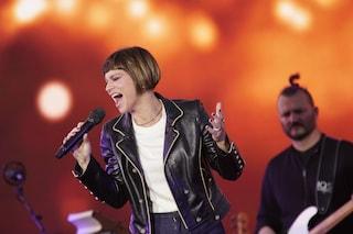 Alessandra Amoroso, concerto drive-in per i fan: come pubblico i lavoratori dello Spettacolo