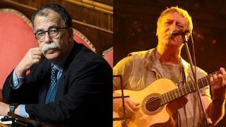 Sandro Ruotolo legge lettere di condannati a morte della Resistenza nella nuova canzone di Trampetti