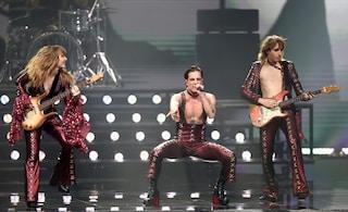 Il video dei Maneskin all'Eurovision Song Contest 2021, l'esibizione con Zitti e buoni