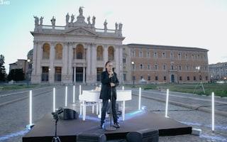 Primo Maggio 2021, Antonello Venditti canta in una piazza San Giovanni deserta