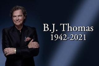"È morto B.J. Thomas, cantava l'indimenticabile ""Raindrops Keep Fallin' on My Head"""
