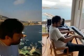 Perché Cesare Cremonini sta postando video e foto da Napoli: c'entra sempre Davide Petrella