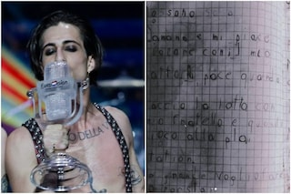 """Il sogno di Damiano David dei Maneskin nel tema scritto da bambino: """"Da grande farò la rockstar"""""""