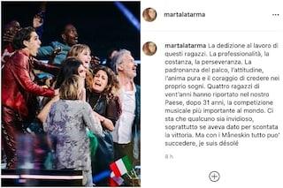 """Eurovision, la manager dei Maneskin: """"Qualche invidioso dava per scontata la vittoria, désolé"""""""