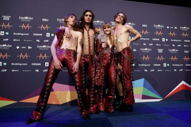 I Maneskin all'Eurovision (Getty Images)