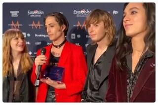 I Maneskin vincono il premio per il miglior testo all'Eurovision Song Contest 2021