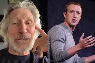 """""""L'ho mandato a fan*ulo"""", Roger Waters contro Zuckerberg che voleva un brano dei Pink Floyd"""