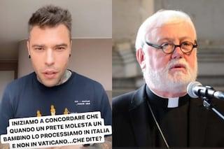 """Fedez contro il Vaticano per il DDL Zan: """"Perché i preti pedofili non vengono processati?"""""""