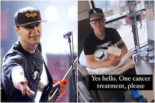 "Mark Hoppus dei Blink-182 ha il cancro: ""Fa schifo e ho paura"""