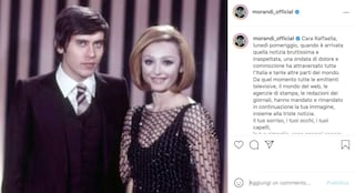 La commovente lettera di Gianni Morandi per Raffaella Carrà