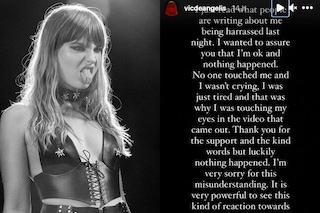 """Victoria dei Maneskin nega le molestie: """"Sto bene"""", ecco cosa è successo"""