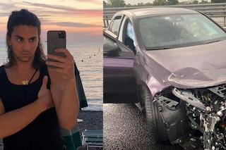 Lo spaventoso incidente d'auto che ha coinvolto Tedua: il rapper salvo per miracolo