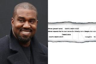 Perché Kanye West ha cambiato legalmente il suo nome: ora è solo Ye