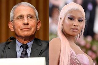 """""""Deve pensarci bene prima di diffondere bufale"""", Fauci contro le accuse no-vax di Nicky Minaj"""
