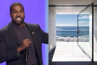 La spesa folle di Kanye West per la nuova casa costruita sulla spiaggia di Malibù
