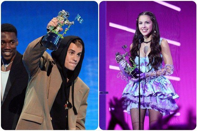Da Justin Bieber a Olivia Rodrigo, tutti i vincitori degli MTV VMA 2021