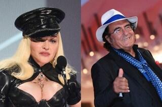 Madonna incantata davanti ad Al Bano che le ha dedicato l'Ave Maria