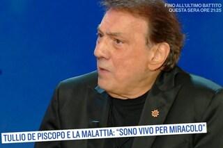 """Tullio De Piscopo e il tumore: """"Volevo l'eutanasia, poi ho deciso di vedere crescere i nipoti"""""""