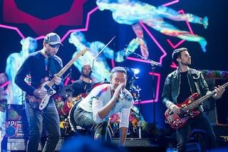 """Coldplay, il cantante Chris Martin: """"Ci fermeremo dopo il dodicesimo album"""""""