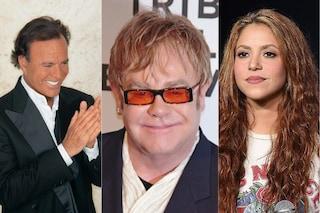 Julio Iglesias, Elton John e Shakira tra i nomi coinvolti nell'inchiesta Pandora Papers