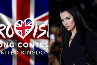 Eurovision 2022, sarà il team di Dua Lipa a selezionare il concorrente del Regno Unito