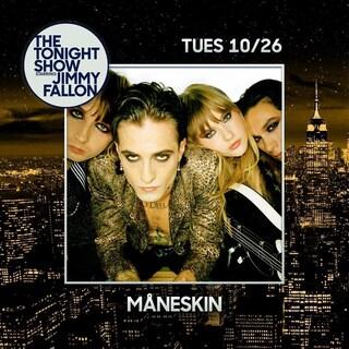 Maneskin, oltre a Jimmy Fallon anche due date negli Stati Uniti per la band di Mammamia