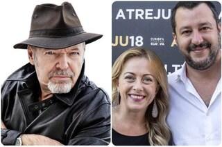 """Vasco Rossi: """"Meloni e Salvini seminano odio per i consensi, in Italia politicanti irresponsabili"""""""