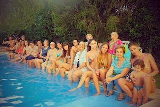 Belen Rodriguez sceglie il caldo dell'Argentina per Natale (FOTO)