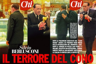 Silvio Berlusconi e il gelatino: cambia il cono con la coppetta