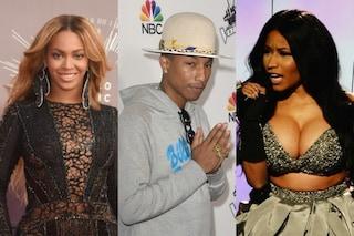 Beyoncé star del 2014 su Facebook, supera Pharrell Williams e Nicki Minaj