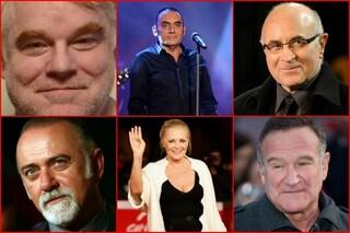 La tristezza del 2014 nei volti dei personaggi famosi che ci hanno lasciato (FOTO)