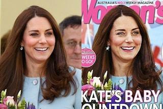 C'è un'altra Kate Middleton in copertina, la foto fa scalpore