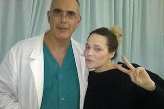 """""""Enea sta bene"""", Laura Chiatti e Marco Bocci tornano a casa col bebè"""