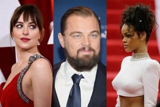 Leonardo Di Caprio con Dakota Johnson: finito l'amore con Rihanna?