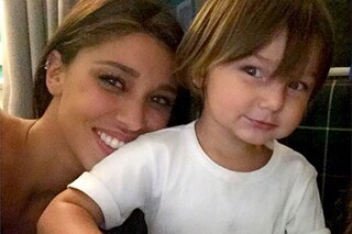 """Belen Rodriguez: """"Terrò mio figlio lontano da Facebook, è pieno di frustrati"""""""