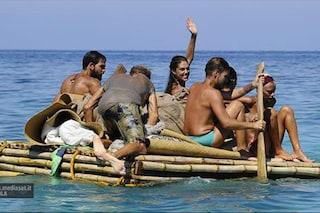 I naufraghi lasciano l'Isola dei Famosi e tornano a casa per la finale