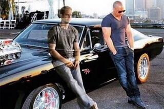 Paul Walker è l'angelo custode di Vin Diesel in un fotomontaggio diventato virale