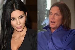 "Kim Kardashian sul patrigno Bruce Jenner: ""Ormai è donna ed è bellissima"""