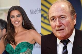 """""""Irina Shayk e Joseph Blatter hanno avuto una relazione"""", lo dice El Mundo"""