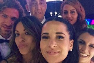 Alessio Cerci e Federica Riccardi si sono sposati, i selfie con gli invitati
