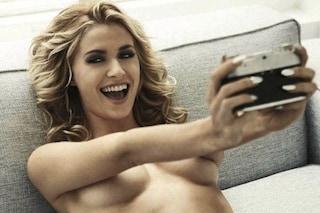 Alla Juve arriva Lena Gercke, fidanzata di Sami Khedira che mangia solo gelato